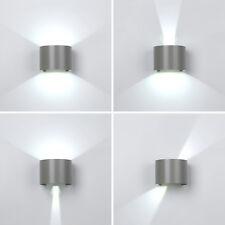 12W LED Außenlampe Außenleuchte Wandleuchte Kaltweiß IP65 Gartenlampe in GRAU DE