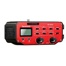 Saramonic SR-PAX2 Audio-Adapter, 2 Kanäle, für DSLR/Black Magic Taschenkamera