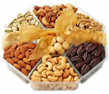 Holiday Nuts Gift Basket - Gourmet Food Gifts Prime Delivery - Christmas, Mother