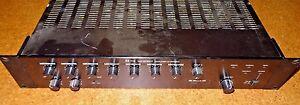 TOA   A-900MK2 8-Ch Mixer Amplifier,  W/ (7) M-11 Microphone Inputs, rack mount