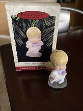 "1996 Hallmark Keepsake Ornament Mary's Angels ""Violet"" #9 Collector's Series"