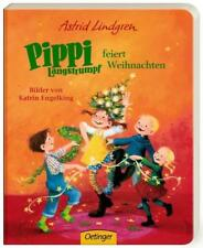 Pippi Langstrumpf feiert Weihnachten von Astrid Lindgren (2014, Pappband)
