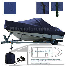 Angler 22 Panga CC Center Console Fishing Trailerable boat cover Navy