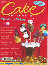 Magazine 038 Cake Craft & Decoration Sugarcraft Recipes Back Issue November 2011