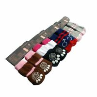 New Soft Cute Pet Knit Anti-slip Weave Cotton Skid Socks Warm Bottom