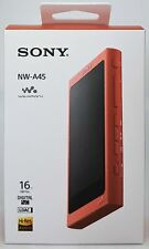 Sony NW-A45 High Resolution Walkman MP3 Player, 16 GB, Red - Nip Dealer