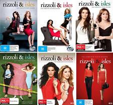 Rizzoli And Isles Season 1 2 3 4 5 6 : NEW DVD