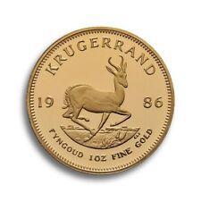 1 Unze Krügerrand Gold 1986 PP, Auflage weltweit nur 21000