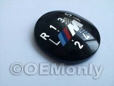 Original OEM BMW M 5 speed Shift Knob Emblem 25111221613 E60 E39 E46 E36 E34E30