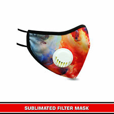 Face Mask Reusable with Breathing Holes Cotton Fabric Cloth Face Masks Washable