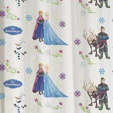 Rovitex Disney Die Eiskönigin Kinder Schlaufenschal Gardine Vorhang rosa weiss