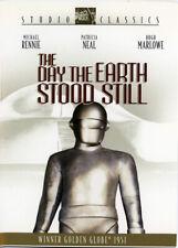 DAY THE EARTH STOOD STILL - 1951 DVD SCI-FI - MICHAEL RENNIE - PATRICIA NEAL