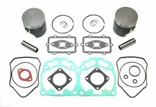 00-03 Ski Doo 700 MXZ Summit 78mm STD Bore SPI Pistons GASKET SET TOP END KIT