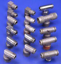 16 N-Type Connectors: 11 Amphenol Right Angle UG-27B/U & 5 Tee Adapter UG 107/BU