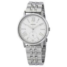 Fossil Gazer White Dial Ladies Steel Watch ES4160