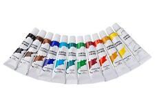 12PC Artists Acrylic Paint Set Colour Paint Tubes Art Supplies Painting Craft