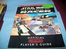 Nintendo 64 star wars episode 1 racers official players guide