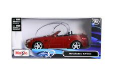 MAISTO 2011 MERCEDES SLK CLASS RED 1/24 DIECAST CAR