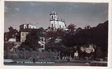 Brazil Brasil Rio de Janeiro - Igreja de Gloria circa 1950 RP tinted postcard