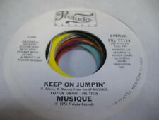 UNPLAYED NM! Soul Disco Promo 45 MUSIQUE Keep Jumpin' on Prelude (Promo)