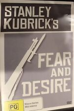 STANLEY KUBRICK'S FEAR & DESIRE RARE DELETED OOP DVD MOVIE PAUL MAZURSKY FILM
