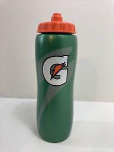 1 GATORADE Squeeze Water Bottle 32OZ New Dishwasher Safe Bpa Free