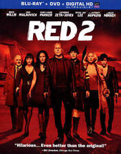 RED 2 (Blu-ray/DVD, 2013, 2-Disc Set) - Includes Slip Cover