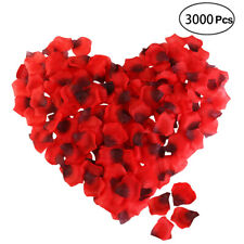 3000PCS Red Fake Rose Petals Wedding Artificial Flower Party Decoration