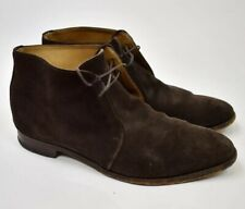 Alfred Sargent for J.Crew Brown Suede Boots Mens size 13 Made England Goodyear
