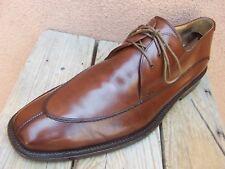 MEZLAN Mens Dress Shoes Rich Brandy Brown Lace Up Oxford Comfortable Size 10.5M