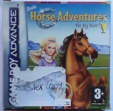 Nintendo Game Boy Advance Barbie Horse Adventures The Big Race Boxed