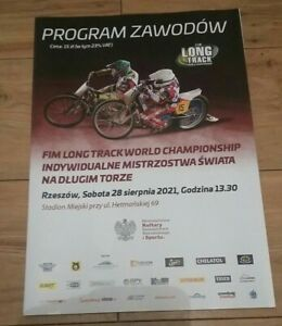 2021 FIM Longtrack Final 2 Rzeszow Poland Programme Sold Out on Day
