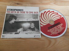 CD Pop Stereophonics - You Gotta Go There To Come (13 Song) Promo V2 MUSIC cb