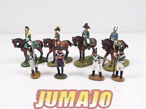 AUS4 LOT 8 SOLDAT 1/50 décor guerre AUSTERLITZ Napoléon  del prado : cavaliers