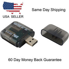 USB 2.0 Flash Memory Card Reader All-in-One SD/SDHC Micro-SD/TF MS-Duo M2,