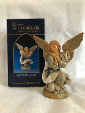 "Fontanini Kneeling Angel 5"" Heirloom Nativity Collection 72518"