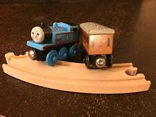 3 Piece Thomas the Train Engines Annie & Thomas & Curved Track Brio Compatible