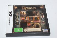 Nintendo DS Rooms The Main Building Game Complete Aus Release
