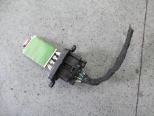 FIAT 500 FAN SPEED RESISTOR - 2013