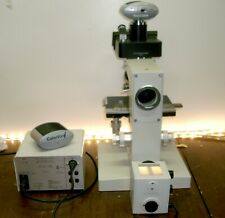 Leitz Metallux II Microskope mit 2 Kameras E-Mikroskop Leitz Wetzlar Germany