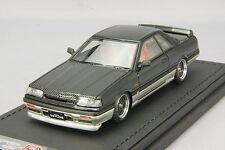 1/43 Ignition IG Nissan Skyline GTS-R R31 Black Gun Metallic IG0981
