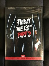 Friday The 13th Part 2 DVD Motion Picture Widescreen 1981 Slasher Horror Jason