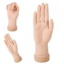 Finger Modell Kunststoff Übungsfinger Hand Nagelart Praxis Nail Art Maniküre NEU