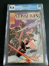 STARSLAYER  #2 CGC  9.6  WHITE  PAGES 11/82 PACIFIC COMICS / 2'ND APP. OF GROO