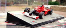 Ferrari F2001 2001 Schumacher Black Nose F1 Diecast 1:43 New Sealed W/Magazine