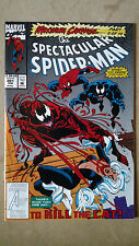 SPECTACULAR SPIDER-MAN #201 FIRST PRINT MARVEL COMICS (1993) MAXIMUM CARNAGE