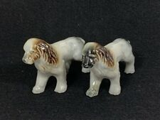 Vintage Pair of English Setter Dog Figurines - Made In Japan