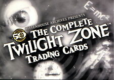 TWILIGHT ZONE, THE COMPLETE 2009 RITTENHOUSE ARCHIVES PROMO CARD P2