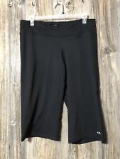 C9 Champion Womens Fitness Black Sz XXL Capri Length Zip Pocket