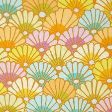 Kaffe Fassett Thousand Flowers Fabric PWGP144 Yellow Fall 2014 Collection BTY